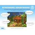 Rymowanki odkrywanki - Domek w lesie ( układanka edukacyjna )