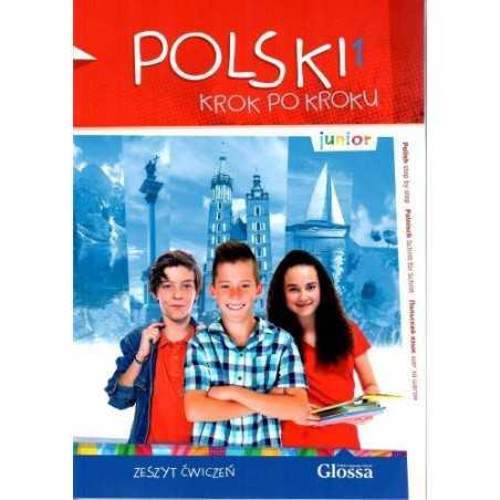 Polski krok po kroku -zeszyt ćwiczeń-Junior 1
