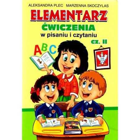 Elementarz. Ćwiczenia w pisaniu i czytaniu. Cz.2