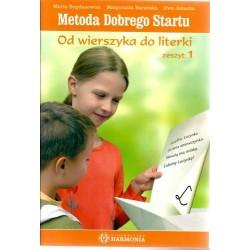 Metoda Dobrego Startu - Od wierszyka do literki - Zestaw 2 zeszytów