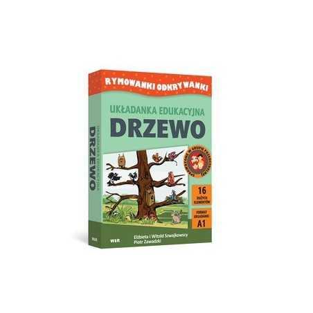 Rymowanki odkrywanki - Drzewo ( układanka edukacyjna )