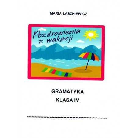 Gramatyka - ćwiczenia językowe - klasa 4
