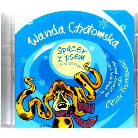 Spacer z psem i inne wiersze na płycie CD