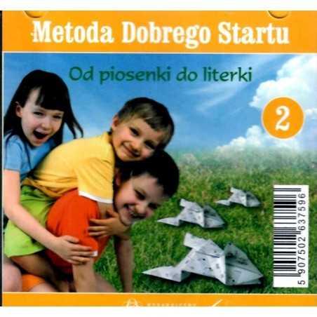 Metoda Dobrego Startu - Od piosenki do literki cz. 2 - płyta CD