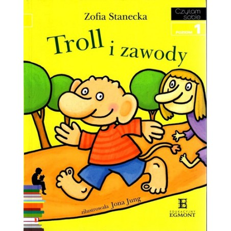 Troll i zawody - Czytam sobie - Poziom 1
