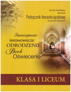 Podrecznik literacko-jezykowy dla polonijnego liceum kl. I - okladka
