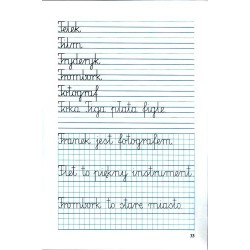 LUBIĘ ŁADNIE PISAĆ – Ćwiczenia do kaligrafii – Część