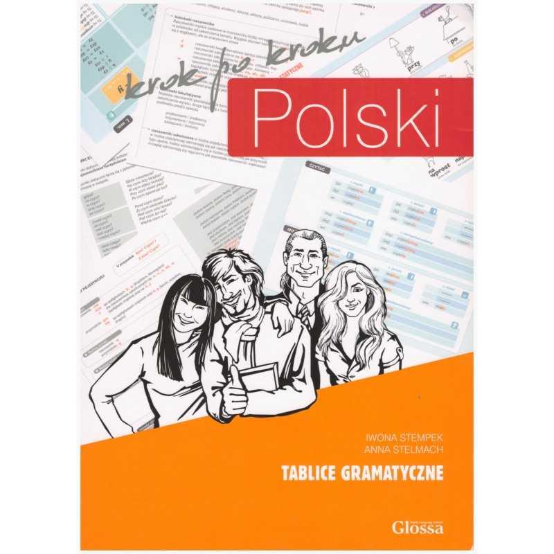 Polski krok po kroku - Tablice Gramatyczne Poziom 1