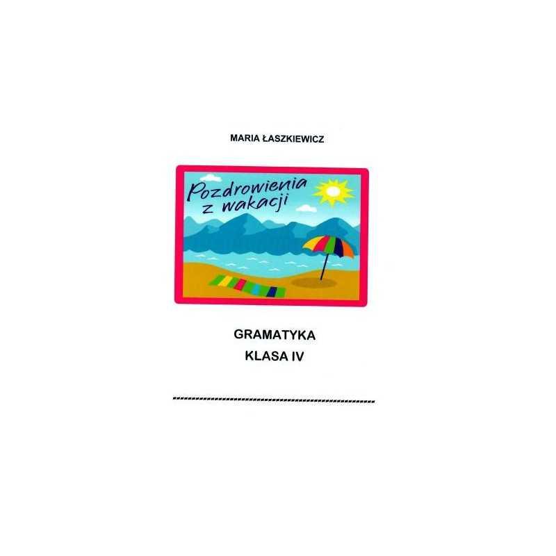 Gramatyka - ćwiczenia językowe Klasa 4