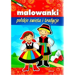 Coloring - Polish holidays and traditions