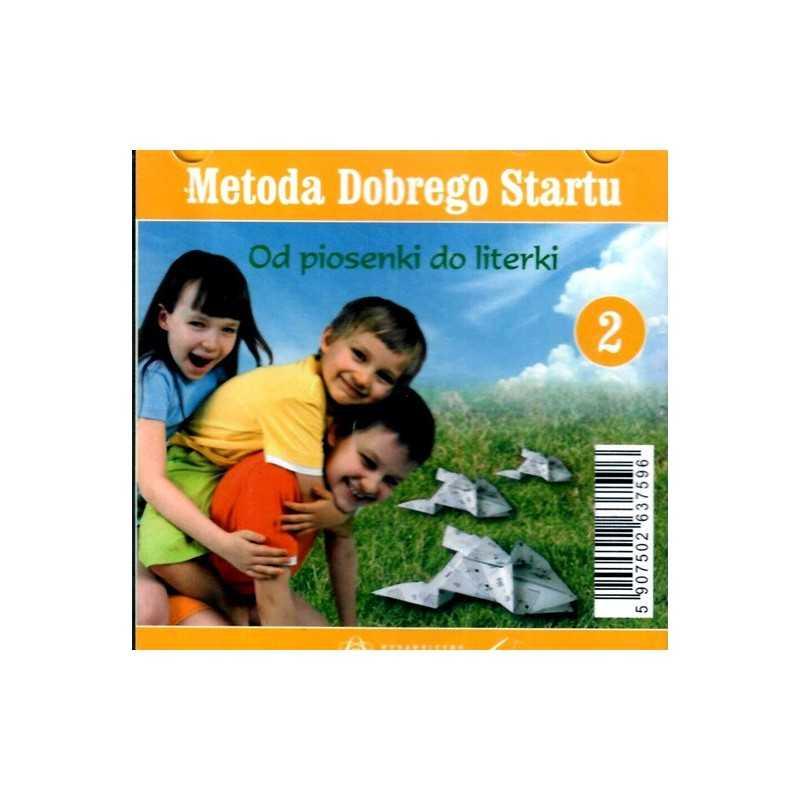 Metoda Dobrego Startu - Od piosenki do lietrki cz. 2 - płyta CD