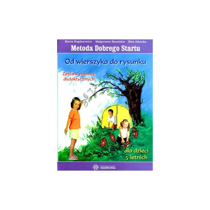 Metoda Dobrego Startu-Od wierszyka do rysunku dla dzieci 5 letnich