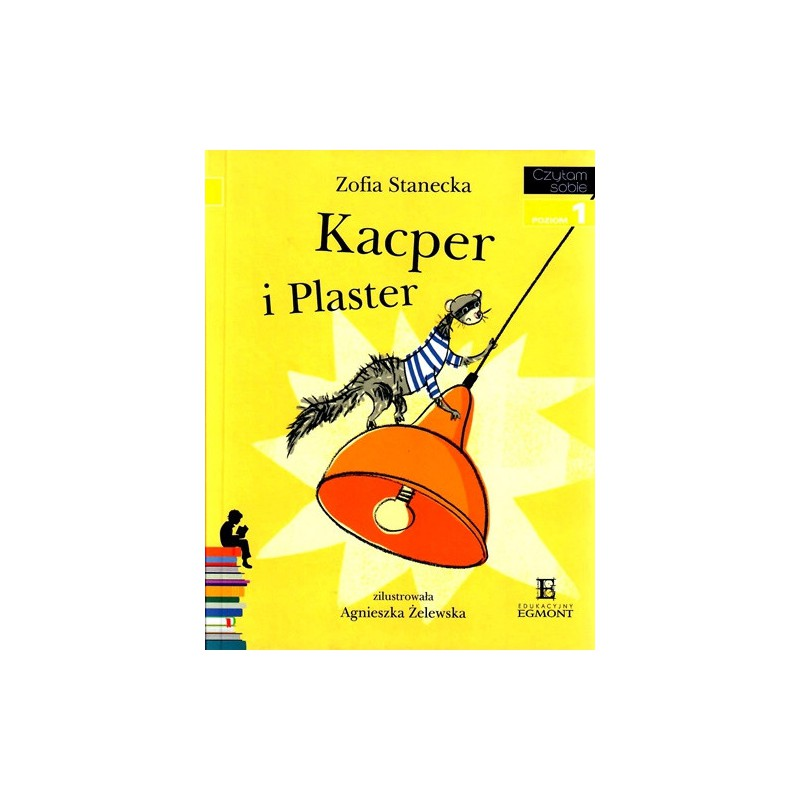 Kacper i Plaster - Czytam sobie - Poziom 1