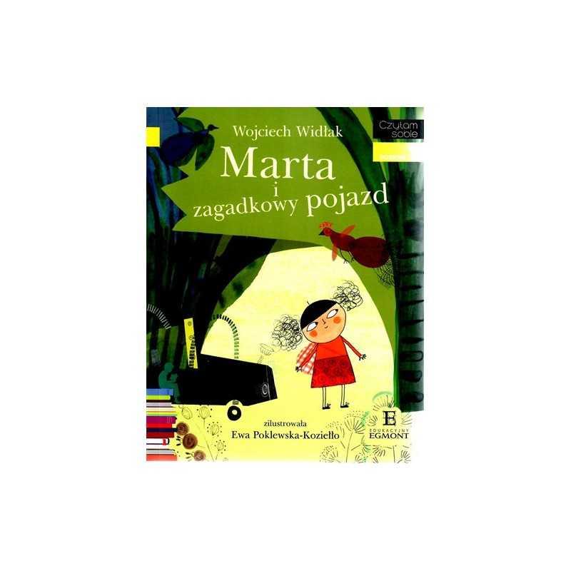 Marta i zagadkowy pojazd - Czytam sobie - Poziom 1