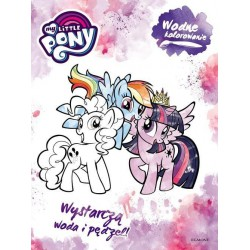 My Little Pony. Water coloring