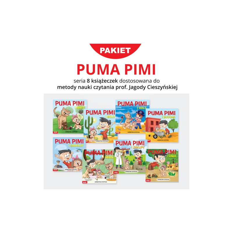 Puma Pimi. Pakiet 8 książeczek