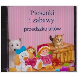 CD with songs and rhymes for preschool