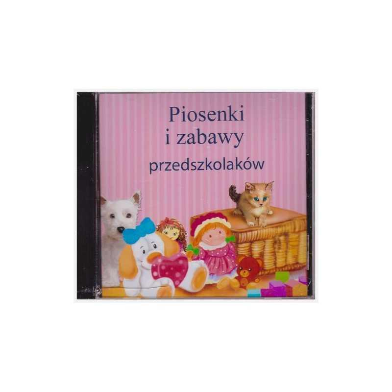 Piosenki i zabawy przedszkolaków. Płyta CD