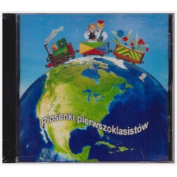CD with songs for Polish School Year 1