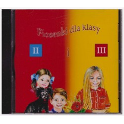 CD with songs for Polish School Year 2 and 3