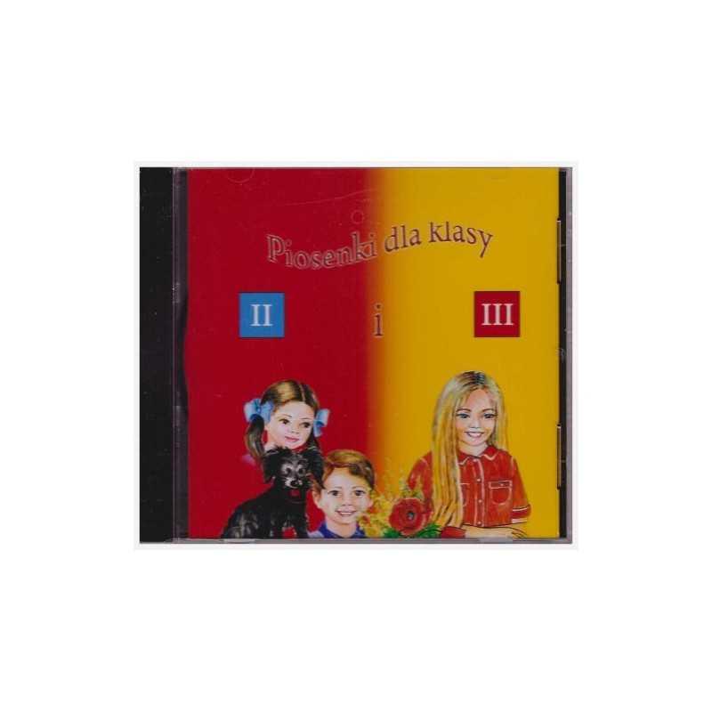 Płyta cd dla klasy 2 i 3