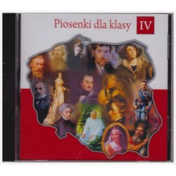 CD with songs for Polish School year 4