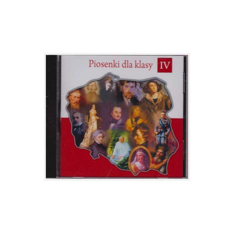 Piosenki dla klasy 4. Płyta CD dla klasy 4