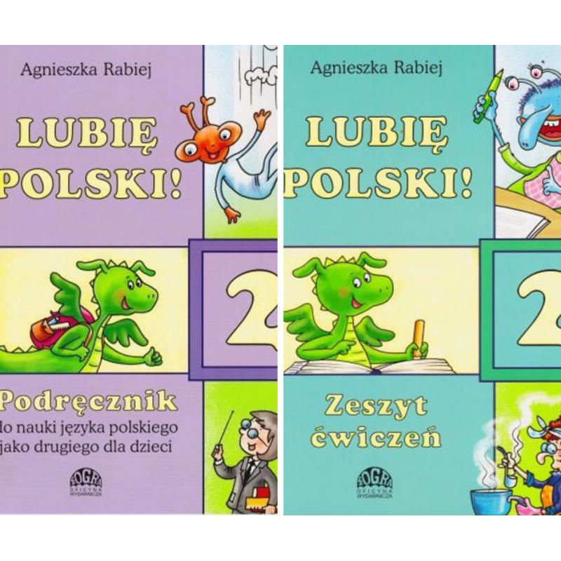Lubię Polski 2, pakiet podręcznik + ćwiczenia