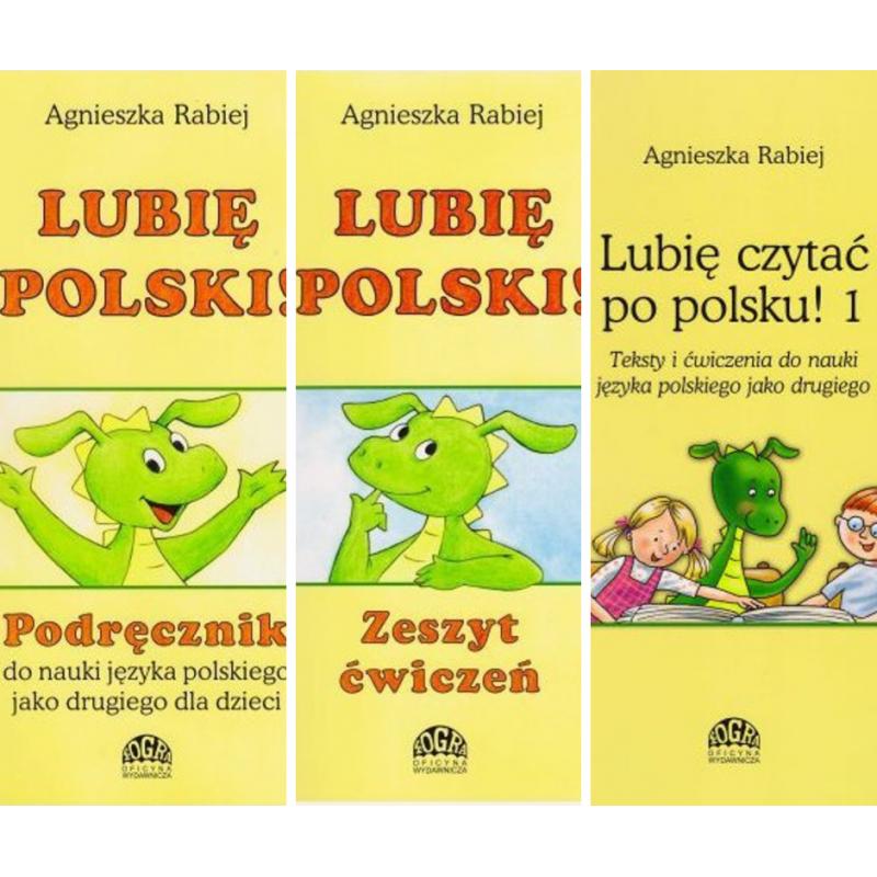 Lubię Polski 1 Pakiet Podręcznik ćwiczenia I Teksty