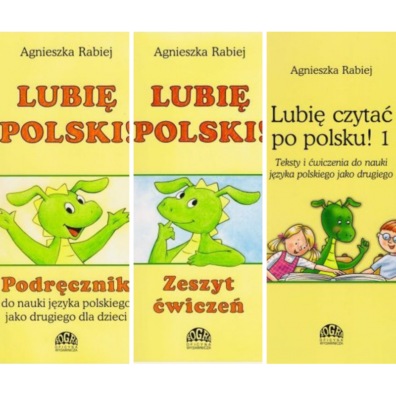 Lubię Polski 1 - pakiet podręcznik + ćwiczenia + teksty