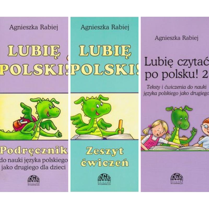 Lubię polski 2 - pakiet podręcznik + ćwiczenia + teksty