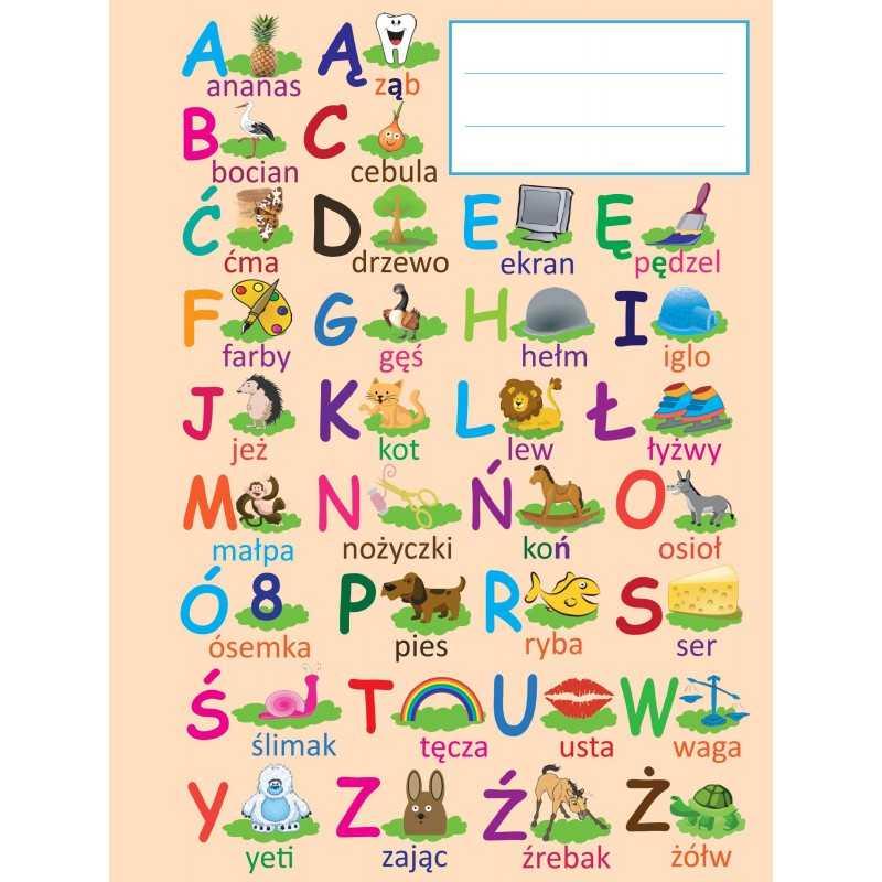 Zeszyt w 3 linie do nauki pisania A5 (16-kartkowy)