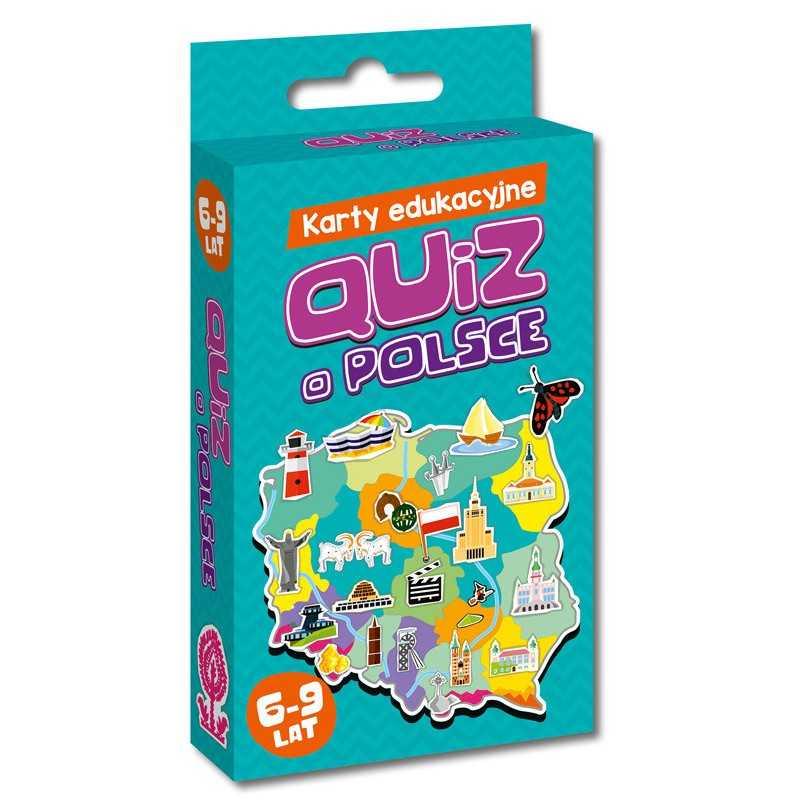 Karty edukacyjne - Quiz o Polsce