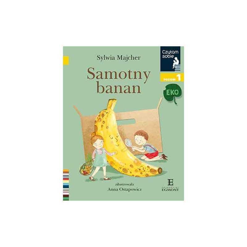 Samotny banan - Czytam sobie - Poziom 1