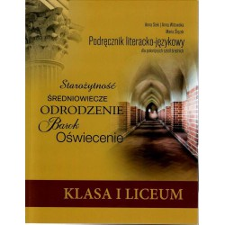 Polish workbook for Polish High School, Year 9