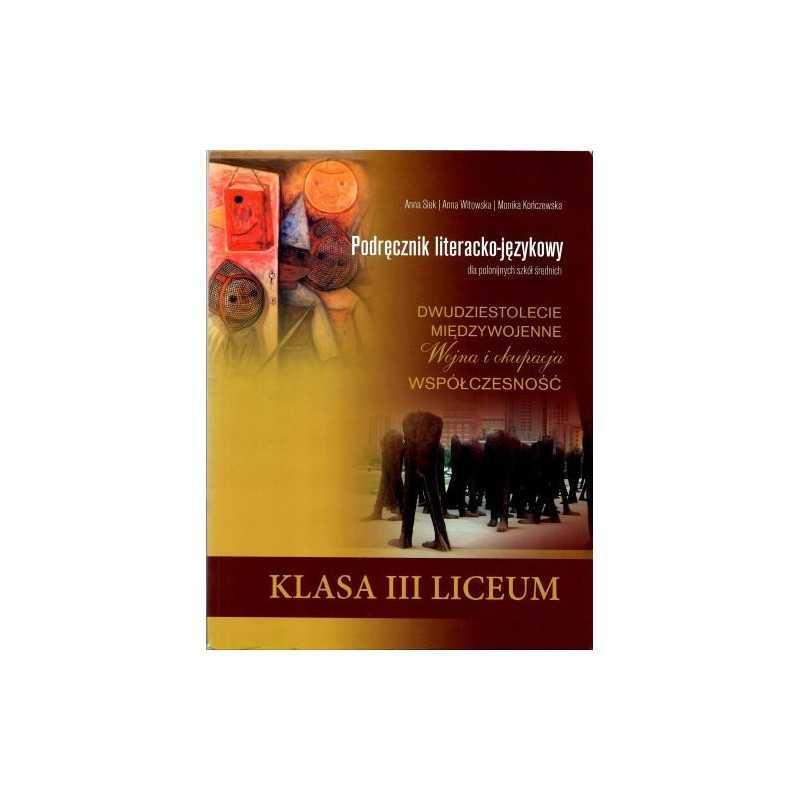 Podręcznik literacko-językowy dla polonijnych szkół średnich kl. 3 liceum