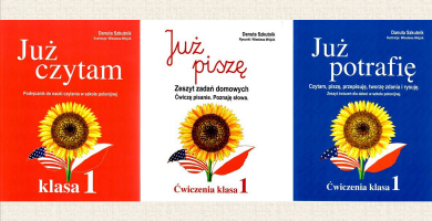 Nowe podręczniki dla dzieci dwujęzycznych
